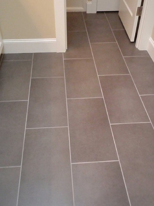 How far apart did you space your 12 x 24 tiles for 12x24 tile patterns floor