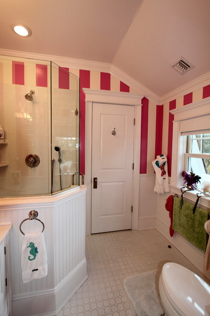 girls bathroom eclectic bathroom - Girls Bathroom