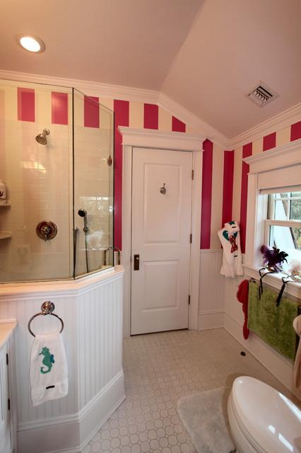 Girls Bathroom Eclectic Bathroom