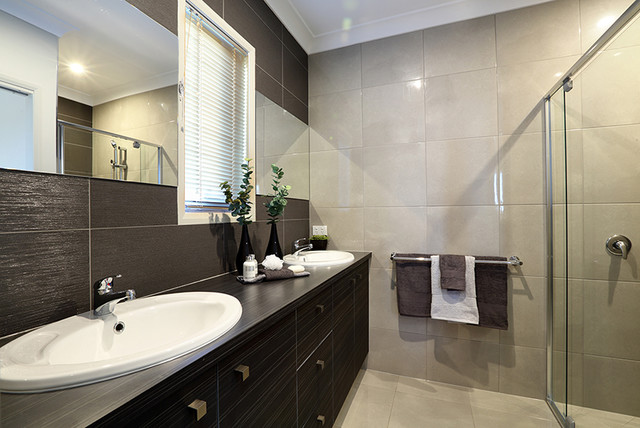 Gj Gardner Display Home Caboolture Contemporary Bathroom Brisbane By Love Ur Space