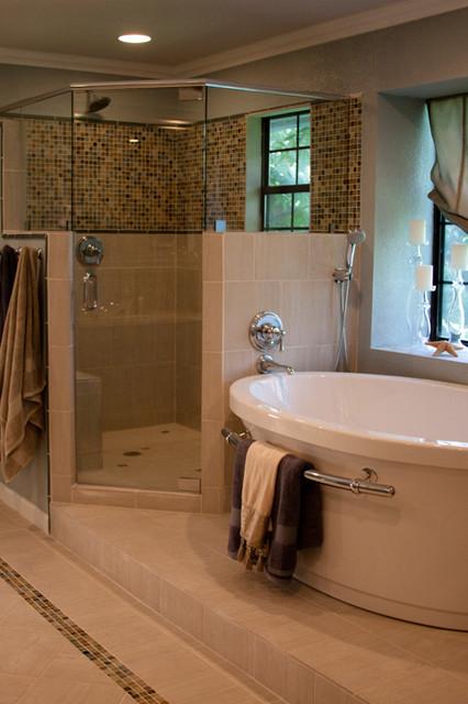 Glam bathroom remodel eclectic-bathroom