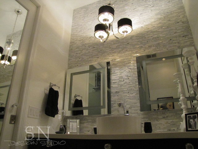 Glam Bathroom Remodel Contemporary Bathroom