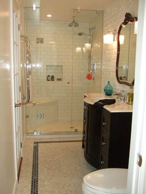 Attirant Glamorous Basement Bathroom Eclectic Bathroom