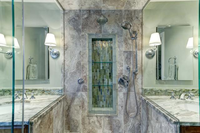Glamorous Bathroom Contemporary Bathroom Providence By RI Kitchen Am