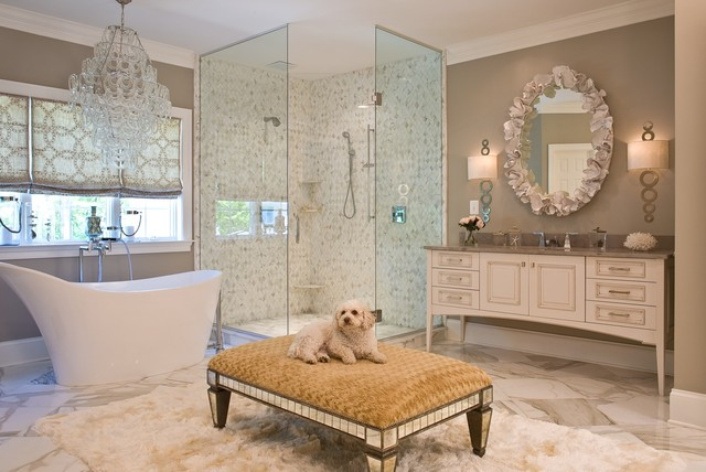 Glamorous bathroom traditional bathroom dc metro for Simply bathrooms