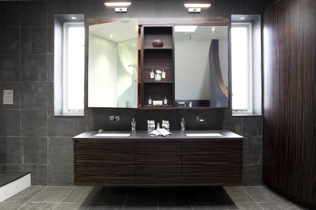 Glamorous Bathrooms contemporary-bathroom