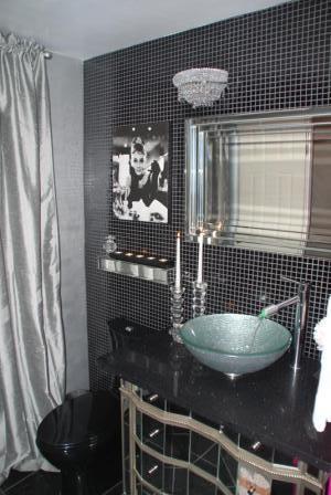 Glamorous Guest Bathroom eclectic-bathroom