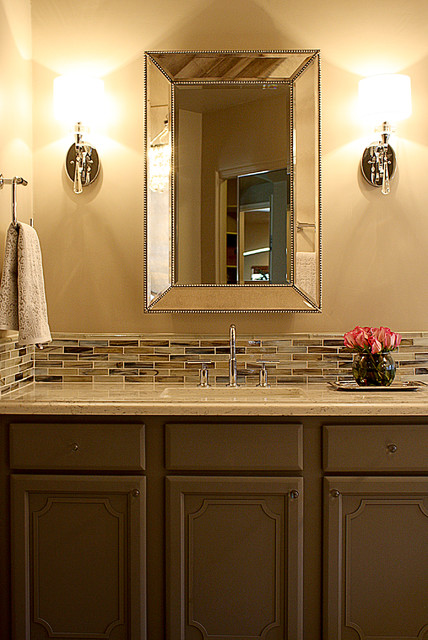 Glamour Girl Master Bathroom transitional-bathroom