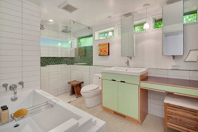 Glamour Rambler Contemporary Bathroom Seattle By