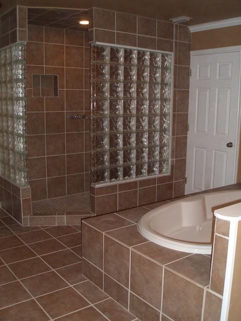 Glass Block Bathroom bathroom