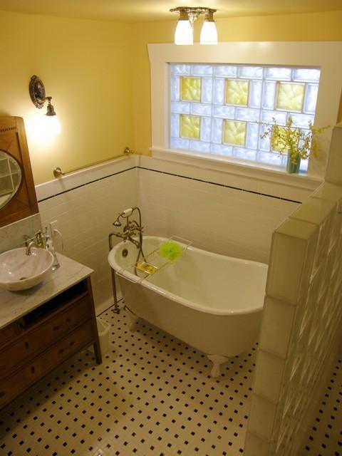 Bathroom Window Solutions glass block bathroom windows - traditional - bathroom - cleveland