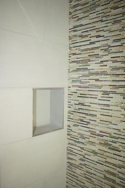 Glass Collection from Imperial Tile bathroom