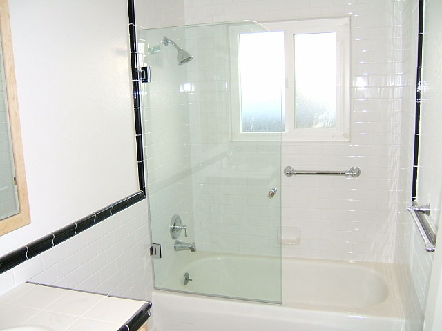 Glass Screens Partitions Contemporary Bathroom