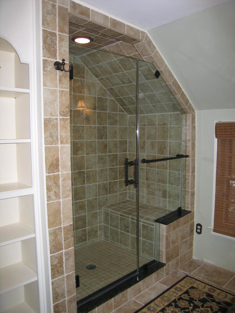 Glass Shower Doors - Traditional - Bathroom - New York - by Anderson ...