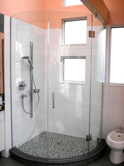Glass Shower Enclosures eclectic-bathroom