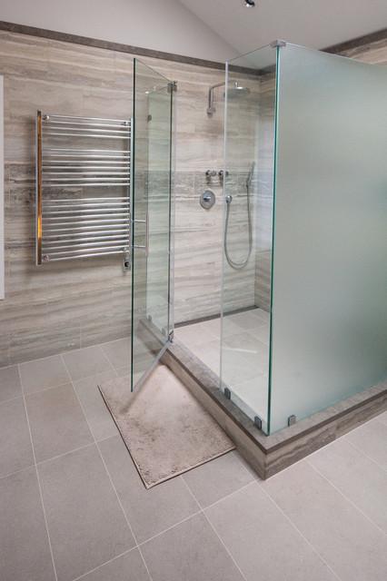 glass shower enclosures traditional bathroom new york by glassworks of summit. Black Bedroom Furniture Sets. Home Design Ideas