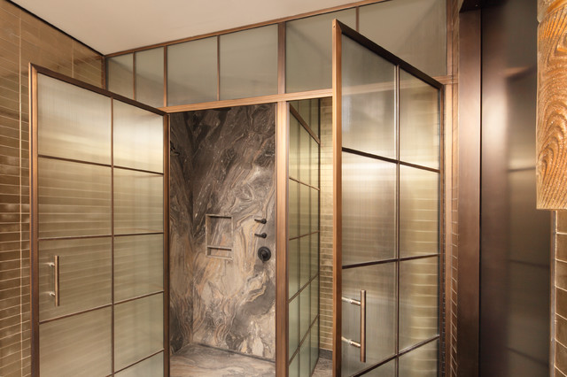 GlassCrafters\' Regal Series - Framed Shower Enclosure - Contemporary ...