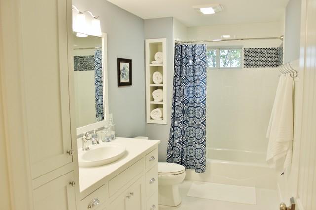 Glen Arbor Home South Haven Mi Beach Style Bathroom