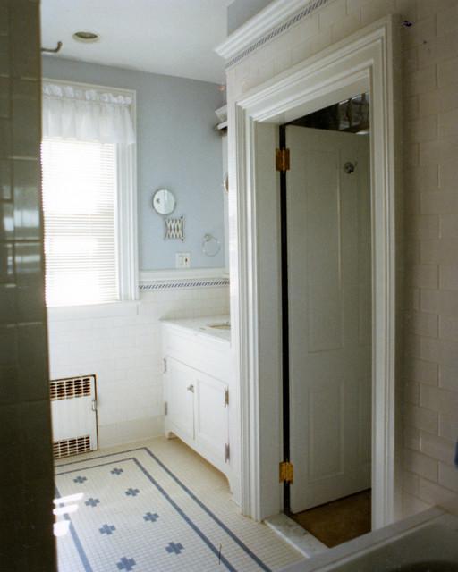 Glen ridge victorian master bath suite victorian for Victorian tudor suite