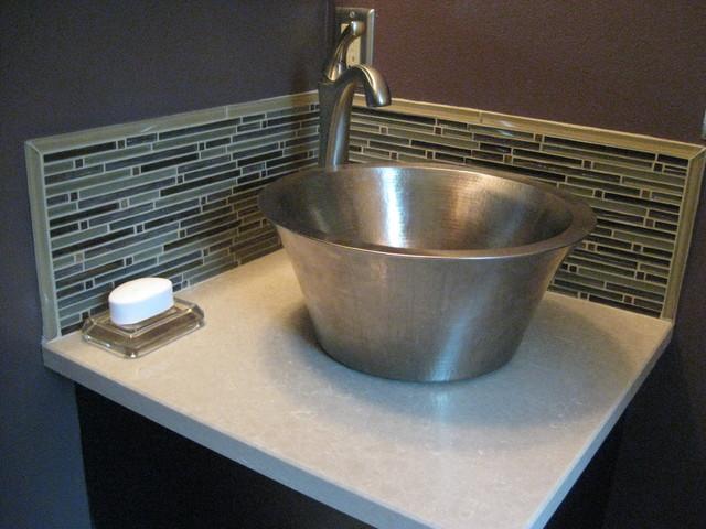 Glendale - Small master bathroom remodel contemporary-bathroom