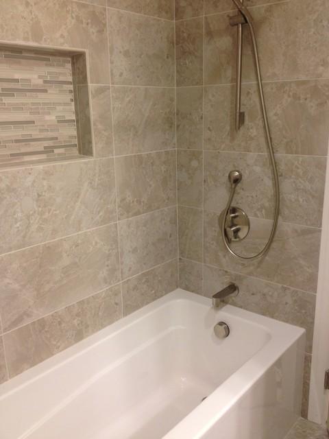 Glendora Hallway Restroom Remodel Transitional Bathroom