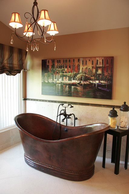Global Chic Master Suite traditional bathroom