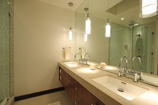 Eclairage des lavabos arielle design for Eclairage lavabo