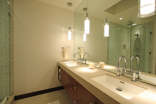 How High Do You Hang Vanity Lights : vanity lighting placement