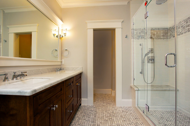 Going Green In Houston Heights Bathroom Traditional Bathroom Houston By Marie Flanigan