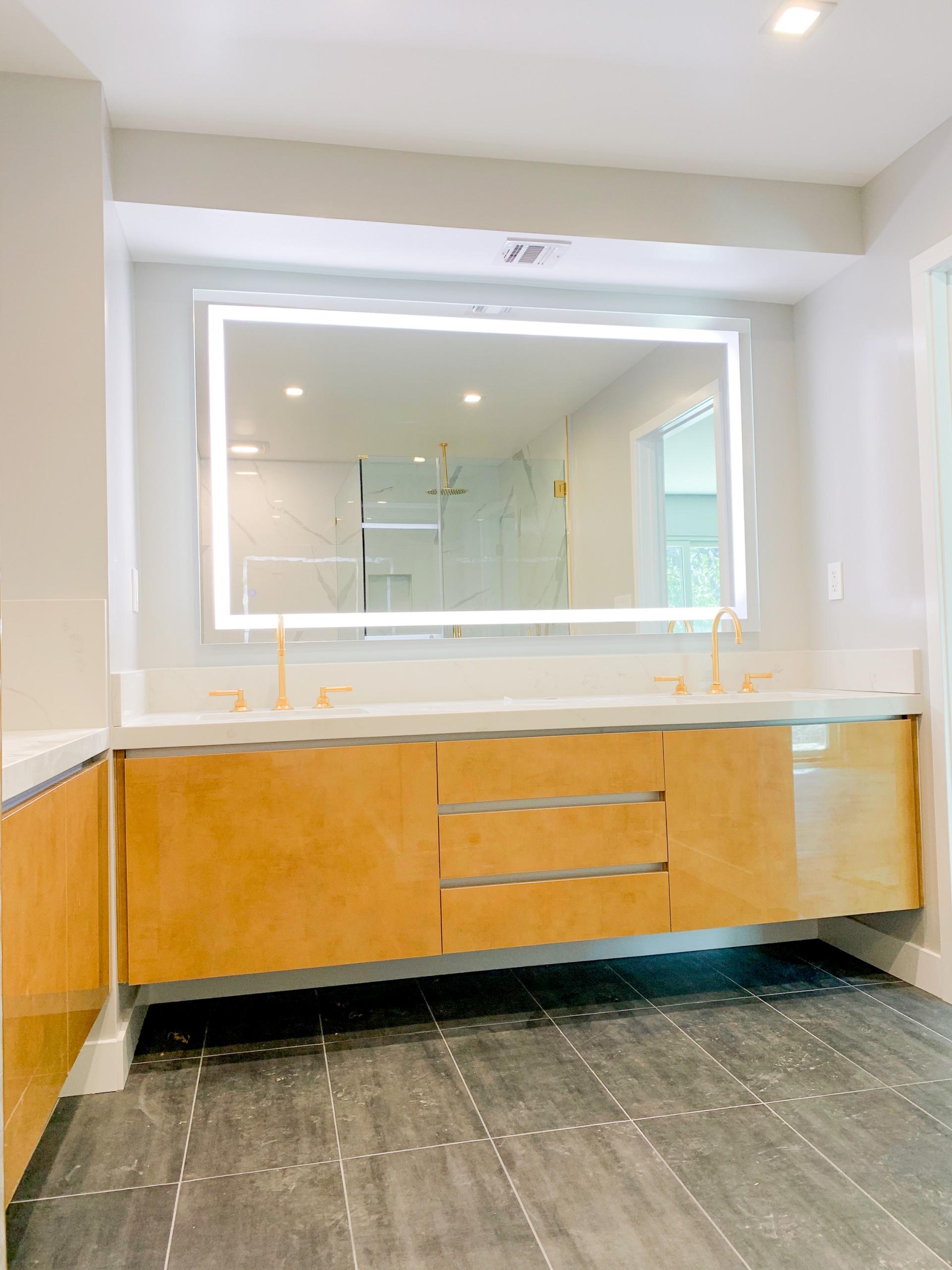 Gold b Rush Master Bathroom