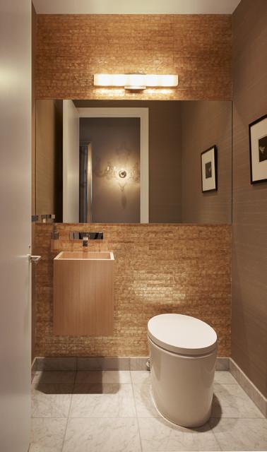 Gold Coast Condominium contemporary-bathroom