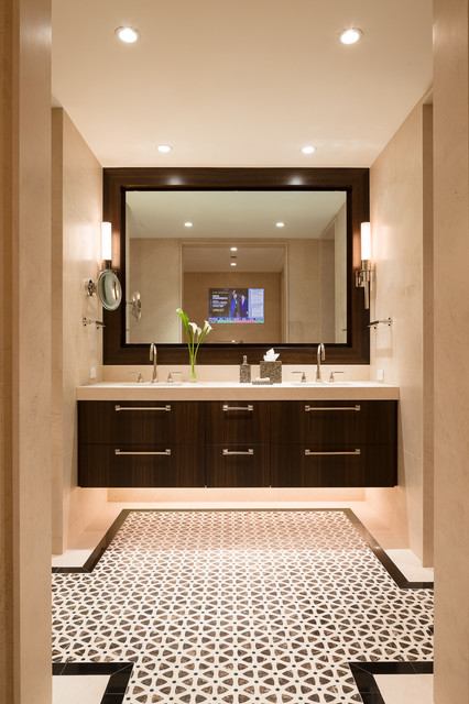 Gold Coast Residence - Contemporary - Bathroom - Chicago - by Robyn Shapiro Design