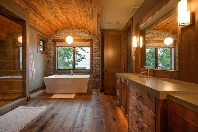 Gold Tommie Award Winner 2013  Private Residence rustic bathroomGold Tommie Award Winner 2013  Private Residence   Rustic  . Pics Of Rustic Bathrooms. Home Design Ideas