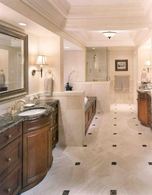 Goldberg Downey Architects - Interiors traditional-bathroom