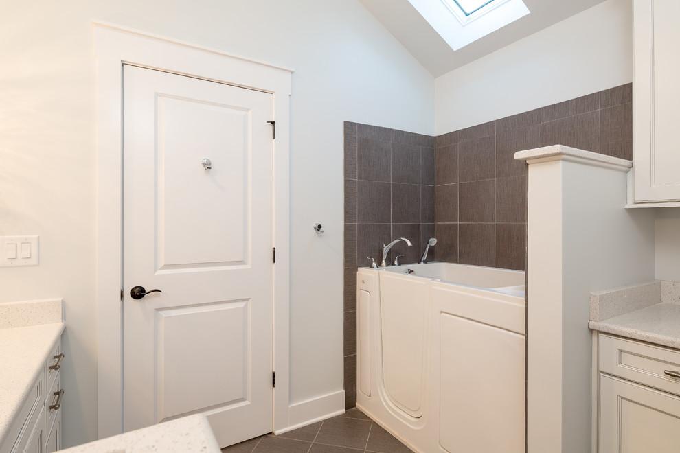 Golden Age Bungalow Bathroom - Transitional - Bathroom ...