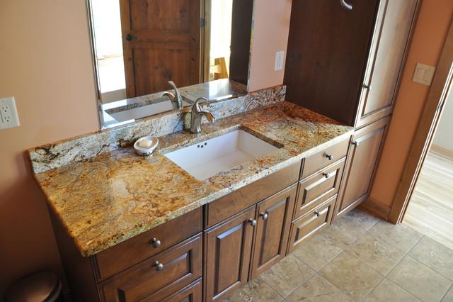 Golden Aurora Granite  Bathroom  Other  By Madison. Very Small Kitchen Design Pictures. 2020 Kitchen Design Free Download. Big Kitchen Design. Unusual Kitchen Designs. Kitchen Cabinets Design Online. Wickes Kitchen Designer. Kitchen Design Portfolio. Modern Luxury Kitchen Designs