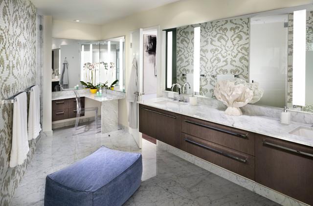Golden Beach Res. contemporary-bathroom