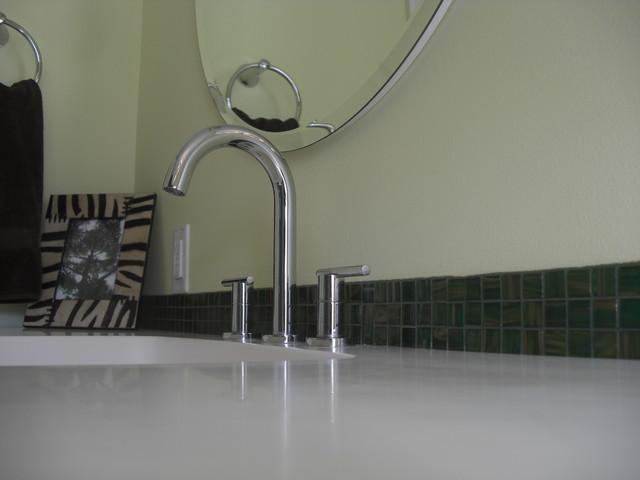 Golden Flecks Contemporary Bathroom Chicago By West Side Lumber Ace Kitchen Bath