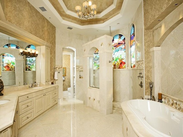 Golden Rule Bathroom contemporary-bathroom