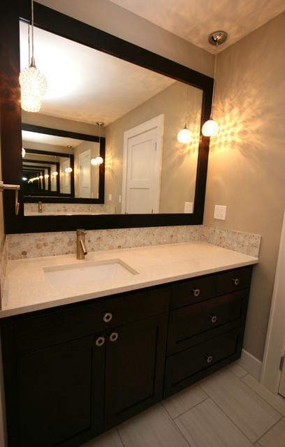 Golf course home contemporary bathroom other metro for Bathroom design courses