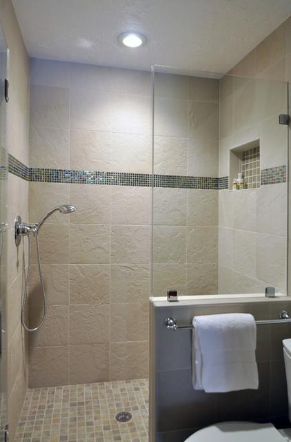 Gorgeous Hall Bathroom contemporary-bathroom