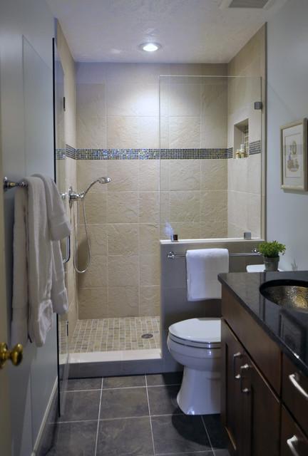 Gorgeous hall bathroom for Small hall bathroom remodel ideas