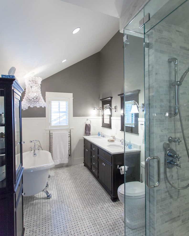 Grace Crescent, North Vancouver - Traditional - Bathroom ...