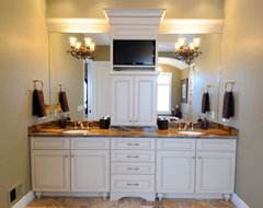 Graceful Master Bath traditional
