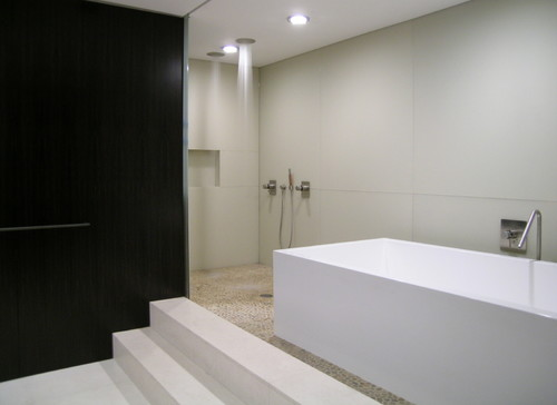 Bathroom Tiles Alternative : Beautiful alternative to tile walls in the shower what is