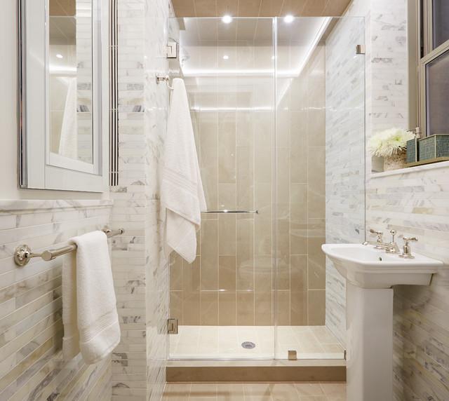 Bathroom Osborne Park Bathroom: Gramercy Park Project : Interior Design New York : ELISE SOM