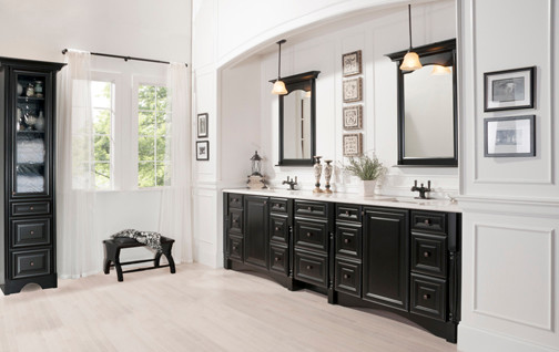 Captivating Granbury Transitional Suite From The Elegant Bath Collection Traditional  Bathroom