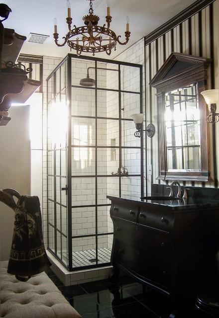 Grand rapids twenties bungalow bathroom industrial for Bathroom design grand rapids mi