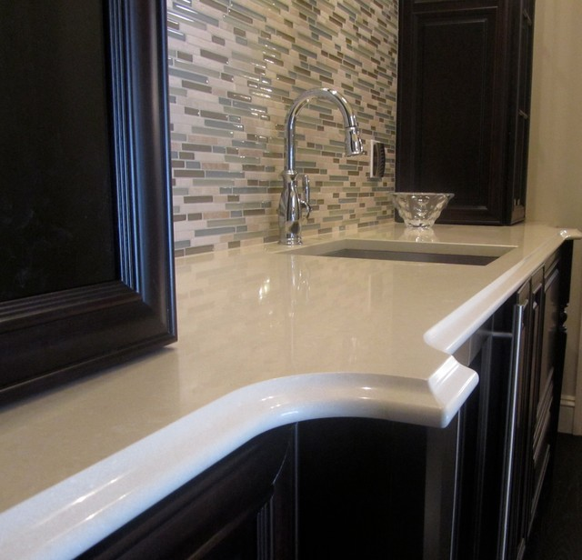 Granite And Engineered Quartz Countertops Traditional Bathroom Other By Great Lakes