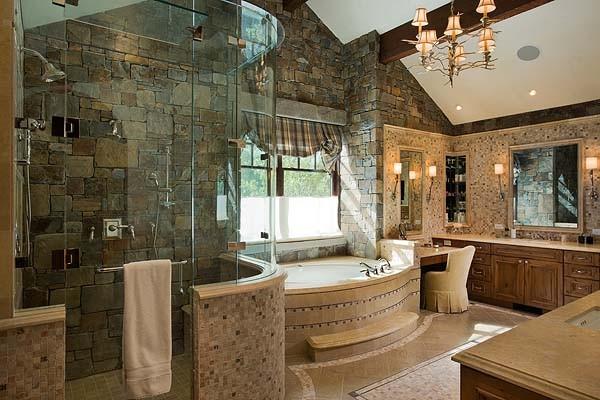Most Beautiful Master Bathrooms: Granite Ridge Residence